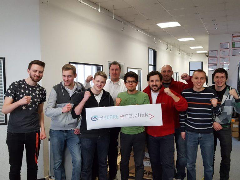 Netzlink startet den deutschlandweit 1. kommerziellen FIWARE-Lab-Knoten 2016
