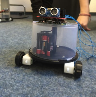 """Projekt """"digit@l world 2016"""" erfolgreich abgeschlossen - der Roboter"""