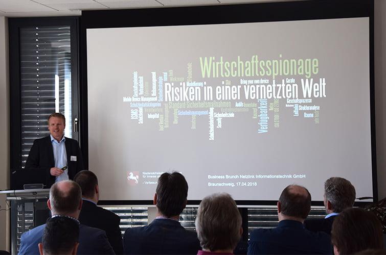 IT-Security Business Brunch Netzlink