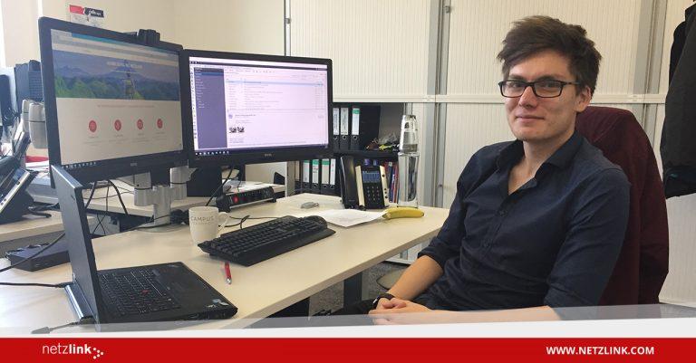Jannik in der Netzlink-UKom