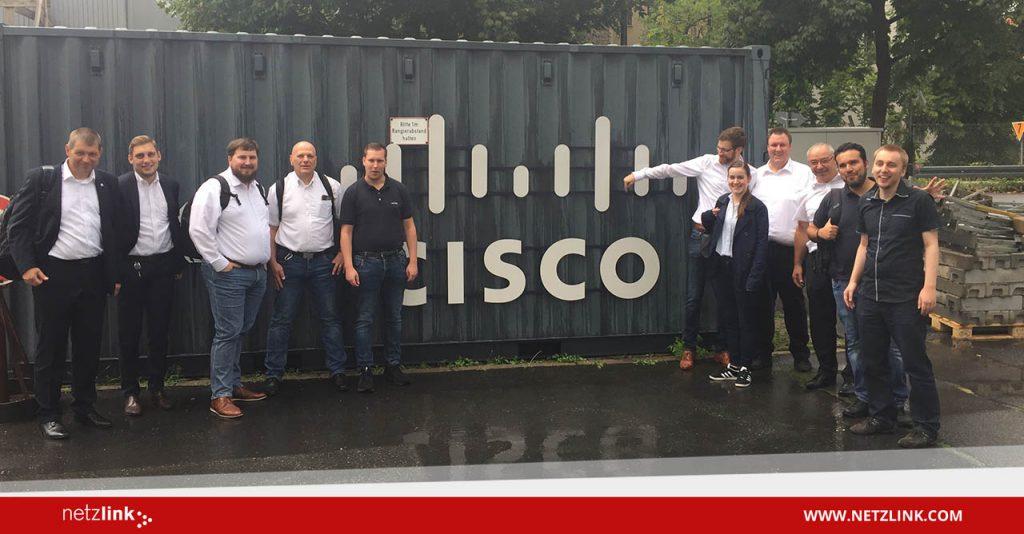 Netzlink im Cisco openBerlin Innovation Center