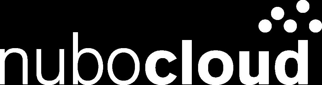 nubocloud Logo weiß