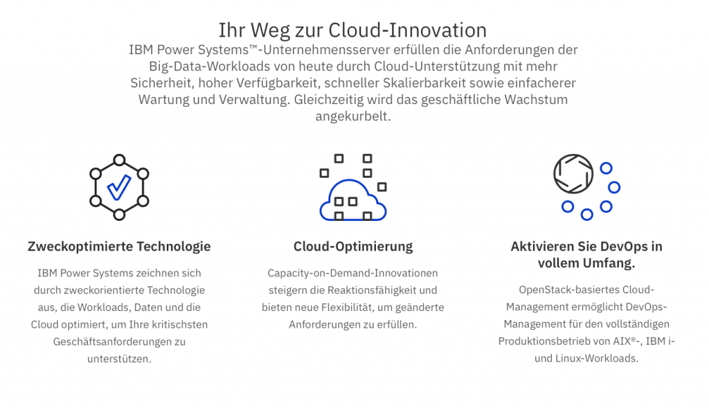 Ihr Weg zur Cloud-Innovation