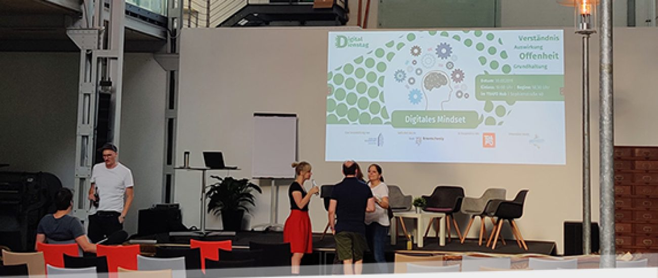 Netzlink beim Digital Dienstag im Trafo Hub
